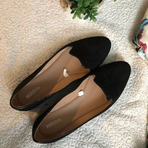 Merona suede loafers size 10
